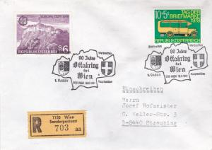 Austria 1981 90th anniversary of Ottakring Registered Cover VGC