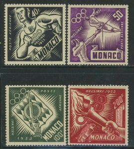Monaco 1953 Helsinki Olympics set Sc# 295/C39 NH