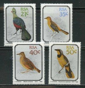 SOUTH AFRICA SCOTT# 789/92 BIRDS MINT NEVER HINGED
