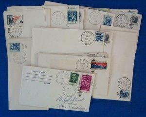 75 Railroad Post Office (RPO) Covers Fm 1960's (S17329)
