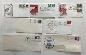 1960s-70s tagging FDC group of 7 [L.443]