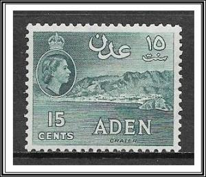 Aden #50a QE II & Crater MH