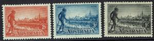 AUSTRALIA 1934 VICTORIA CENTENARY SET PERF 11.5