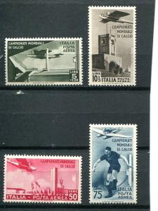 Italy #C62-5  Mint NH  VF  $332- Lakeshore Philatelics