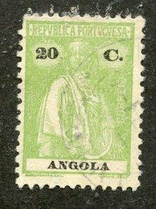 Angola, Scott #158S, Used