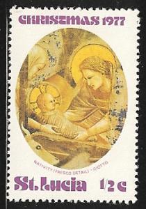 St. Lucia Mh  sc#  427