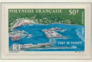 French Polynesia Stamp Scott #C-43, Mint Hinged