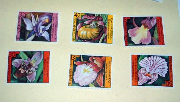 Bulgaria - 3140-45, MNH Set. Orchids. SCV - $3.35