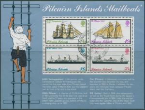 Pitcairn Islands 1975 SG161 Mailboats MS FU