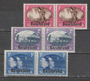 Basutoland   29a-31b  (N**)    1945)    Complet