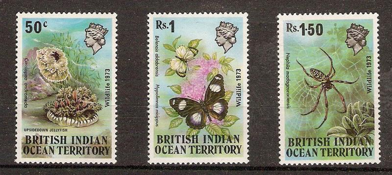 BRITISH INDIAN OCEAN TERRITORY commeratives collection