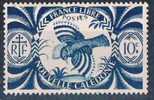 New Caledonia 253 MLH Kagu bird (N0570)+