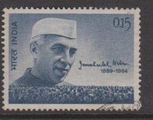 India Sc#388 Used