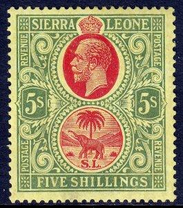 Sierra Leone - Scott #136 - MH - SCV $9.00