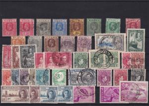 nigeria  mint and used stamps ref r8458