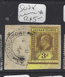 CAYMAN ISLANDS (P1111B)   KE    3D  SG 28  PIECE    VFU