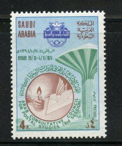 SAUDI ARABIA SCOTT# 655 MINT NEVER HINGED AS SHOWN