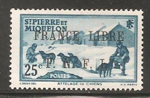 St Pierre & Miquelon SC 229 MNH