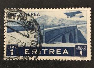 Eritrea 1936 #C11, Used