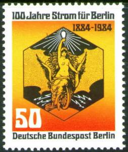 Germany Berlin Occupation Scott 9N492  MNG no gum stamp