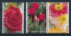 [61920] Australia 1994 Flora, Flowers, Blumen - Rose, Tulip  MNH
