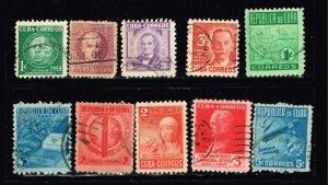 US STAMP CUBA STAMP USED STAMP COLLECTION  LOT #1