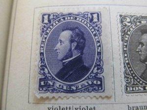 Honduras 1878 1c fine mng stamp A11P12F34