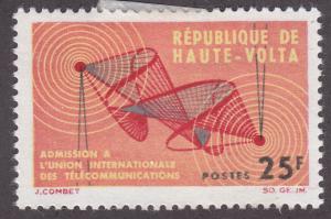 Burkina Faso 129 ITU Emblem 1964