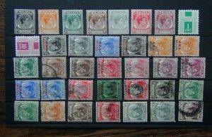 Singapore 1948 values to 10c MM BMA Malaya $1 Straits Settlements 10c Used