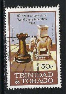 TRINIDAD & TOBAGO 408 VFU CHESS V538