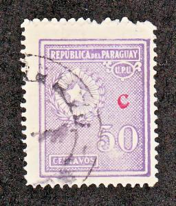 Paraguay Scott #L17 Used