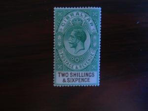 Gibraltar #87 Mint Hinged- (JB6) WDWPhilatelic