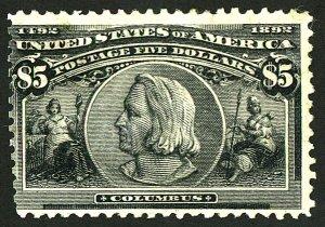 U.S. #245 Used