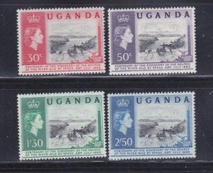 Uganda 79-82 Set MNH Ripon Falls
