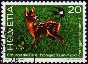 Switzerland. 1976  20c S.G.919 Fine Used