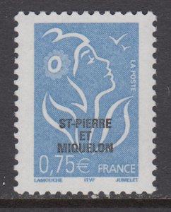 St Pierre and Miquelon 792 MNH VF