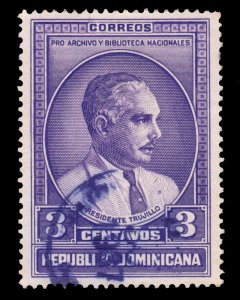 STAMP FROM DOMINICAN REPUBLIC. SCOTT # 313. YEAR 1936. USED. # 2