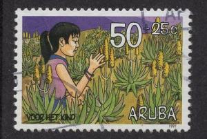 Aruba   #B48   used  1997 child welfare 50c