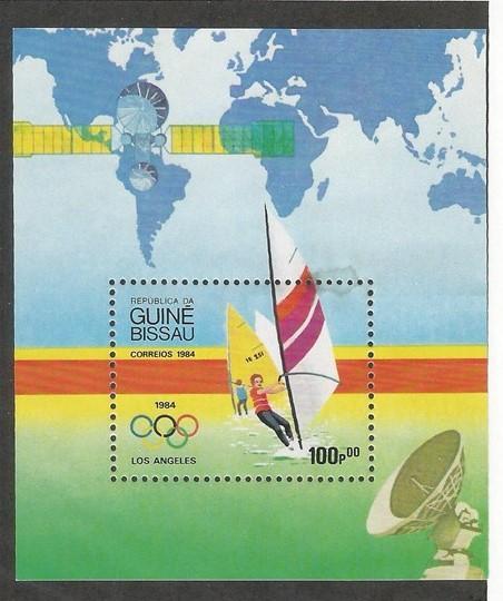 GUINEA BISSAU 618 MNH SS OLYMPICS