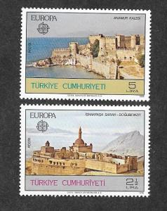 Turkey 2091-2092 Mint NH!