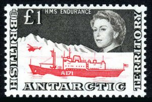 British Antarctic Territory 24, MNH. Antarctic Expedition. Ship, Helicopter,1971