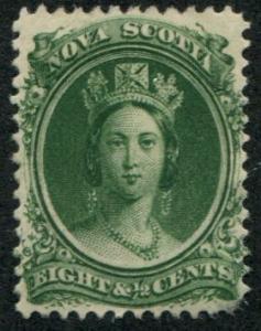 Nova Scotia SC# 11 (SG#14) 8-1/2c Victoria Mint hinged