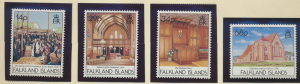 Falkland Islands Stamps Scott #554 To 557, Mint Never Hinged - Free U.S. Ship...