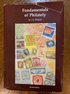 Fundamentals of Philately by Williams 1990,Stamp Philately Book