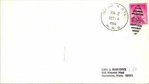 1966 Nash. & Atl. R.P.O. Railway Post Office #117