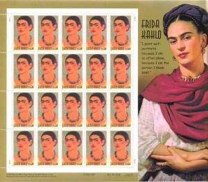 US 3509 - 34¢ Frida Kahlo Unused