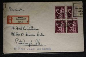 Germany First Day Cover 1936 #477-478 (Mi #622-623) CV €500