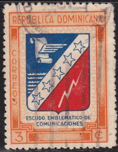 Dominican Rep 417 Used 1945 Centenary of the Constitution