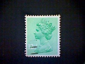 Great Britain, Scott #MH80, used(o), 1982 Machin: Queen Elizabeth II, 12½p