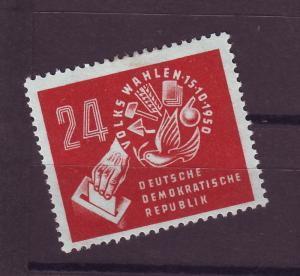 J14639 JLstamps 1950 germany DDR set of 1 mh #70 symbol